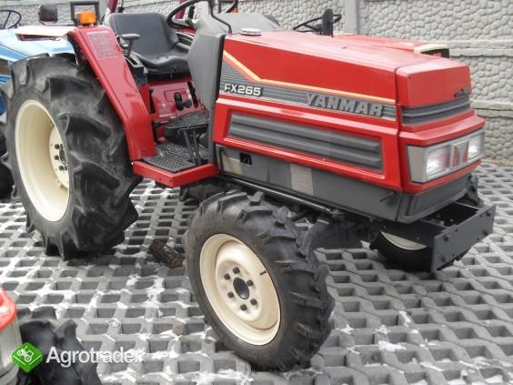 YANMAR FX 265  26 KM 4X4 wspomaganie mini traktor kubota ładowacz TUR - zdjęcie 1