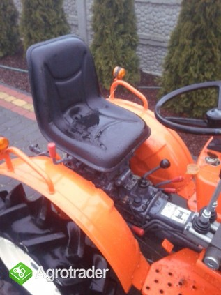Kubota Bultra B 10  10 KM TUR mini mikro traktor 4x4 Yanmar  - zdjęcie 2