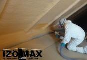 Izolacja dachu, magazynu, hali pianą poliuretanową