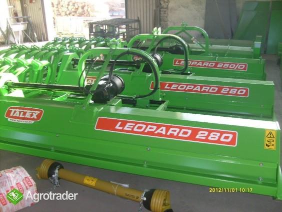 Rozdrabniacz kosiarka bijakowa TALEX LEOPARD DUO kukurydzy nieużytków - zdjęcie 2