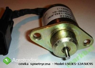 Польская - cewka gaszenia - Solenoid cewka gaszenia start stop yanmar  - zdjęcie 1