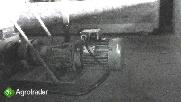 Kosz przyjęciowy do zbóż itp. 4,6m – 5,6m, wydajność ok. 25 t/h - zdjęcie 1