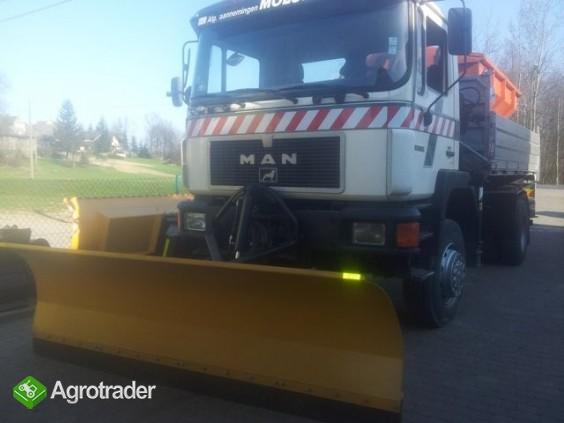 Pługi śnieżne do ciężarówki i ciągnika- producent - zdjęcie 2
