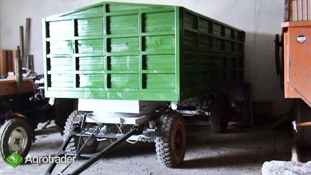 Przyczepa HW pojemność 10 ton - zdjęcie 1