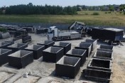 Tanie szamba betonowe 6m3 transport zbiorniki na szambo Kielce