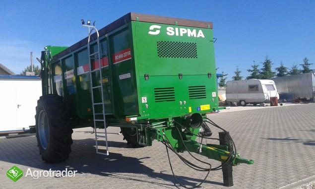 Rozrzutnik obornika firmy Sipma RO 600 Zefir  - zdjęcie 4