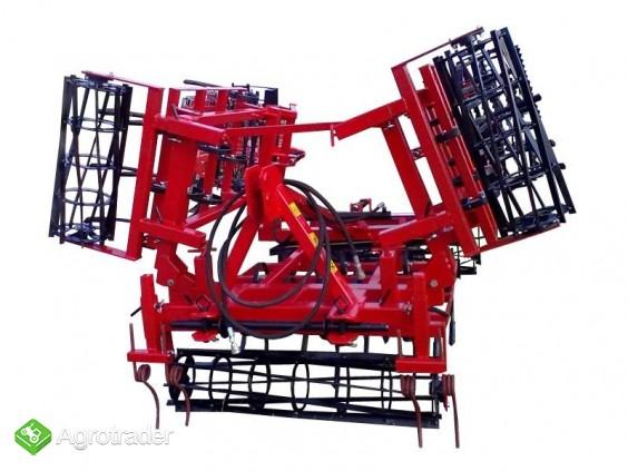 Agregat uprawowy składany hydraulicznie 4,2 KAMIX - zdjęcie 1