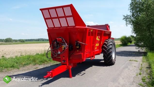 Wóz paszowy rozrzutnik obornika NOWE dobra cena - zdjęcie 6