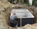szamba betonowe 10m3 jednolite lub szeregowe z Atestem i Aprobatą