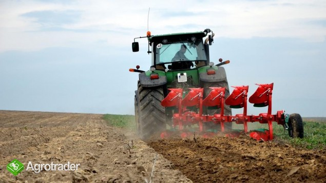 Pług obrotowy obracalny Pługi zabezpieczenie hydrauliczne Agro-Masz - zdjęcie 4