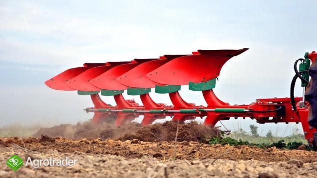 Pług obrotowy obracalny Pługi zabezpieczenie hydrauliczne Agro-Masz - zdjęcie 5