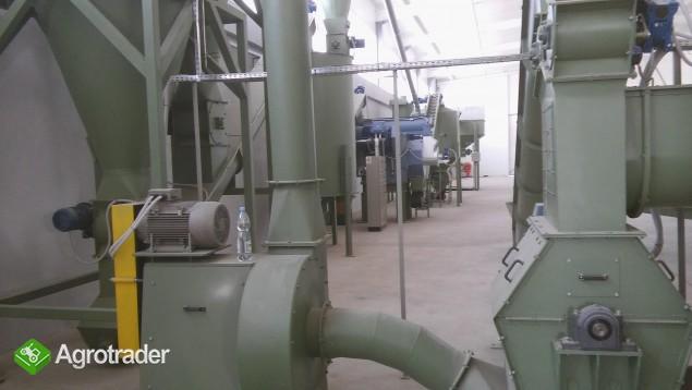 Projektowanie i wykonastwo pod klucz linii do produkcji pelletu, bryki