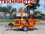 Rębak do gałęzi drewna rozdrabniacz Skorpion 280 SDBG - mobilny rebak
