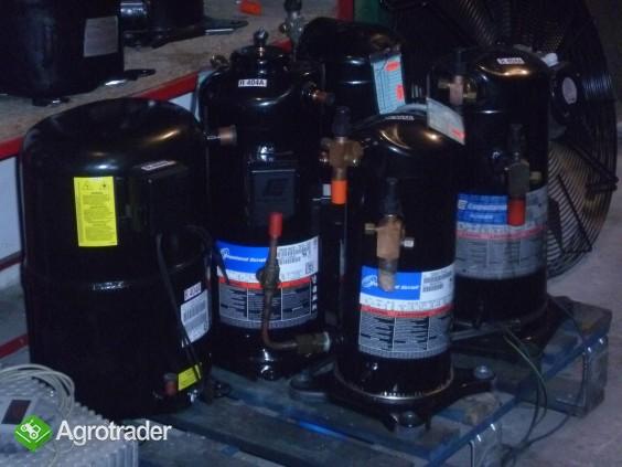 Agregaty chłodnicze chłodnice powietrza sprężarka chłodnicza chłodnia  - zdjęcie 4