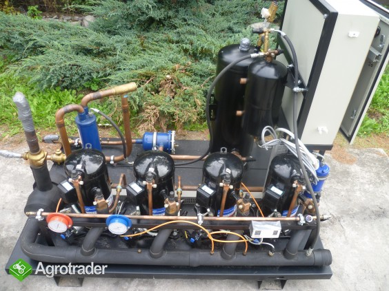 Używane agregaty chłodnicze spreżarka chłodnicza parownik skraplacz  - zdjęcie 3
