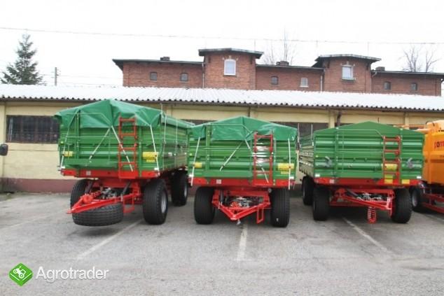 Przyczepa rolnicza Pronar T653/2 nowa promocja trójstronna wywrotka