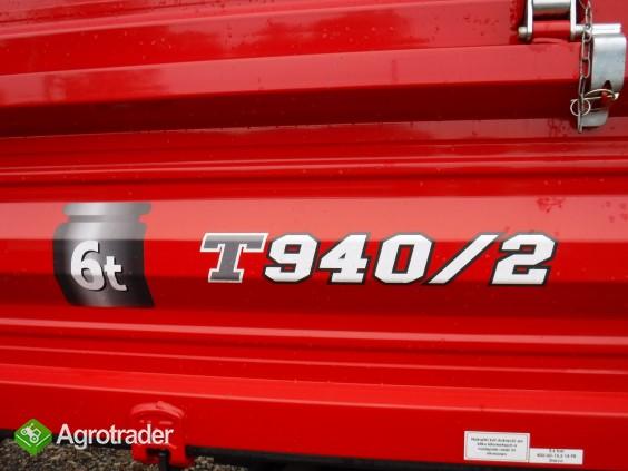 Przyczepa rolnicza T940/2, nowa, METAL-FACH, 6t - zdjęcie 1
