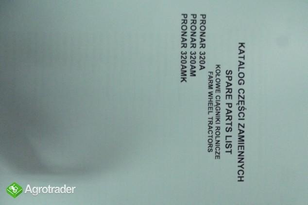 Katalog PRONAR 320A,320AM,320AMK