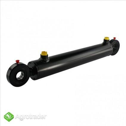 Cylinder hydrauliczny siłownik skok 630 tłok 2-stronny