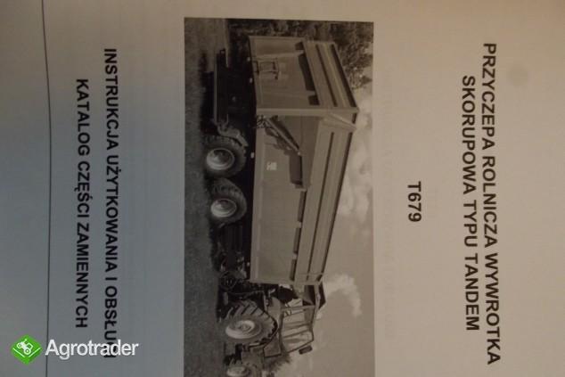Katalog PRONAR Część Zamiennych, Instrukcje Obsługi - Przyczepy - zdjęcie 2