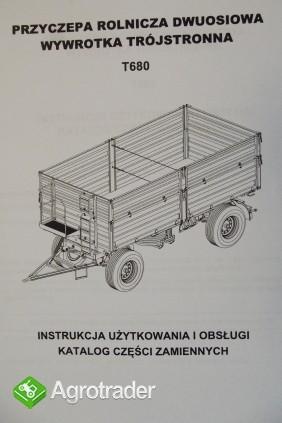 Katalog PRONAR Część Zamiennych, Instrukcje Obsługi - Przyczepy - zdjęcie 5