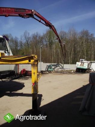 Pompa do betonu 32 m usługi wynajem dzierżawa - zdjęcie 2