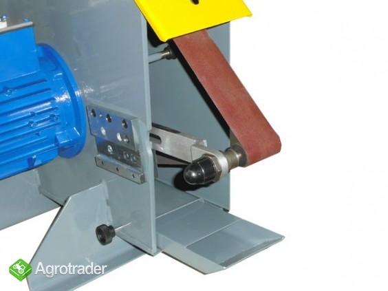 Szlifierka taśmowa do metalu - stacjonarna stołowa  - zdjęcie 2