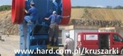 Części do kruszarki granulatora DKT 900 DKT 1200 - stożek, płaszcz,