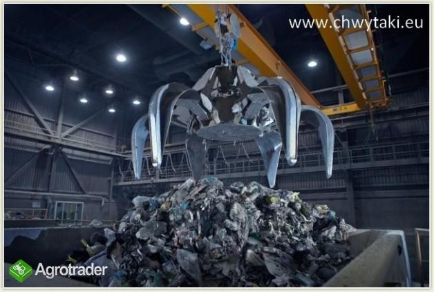 Chwytak do suwnicy do śmieci i paliwa alternatywnego - do spalarni  - zdjęcie 1