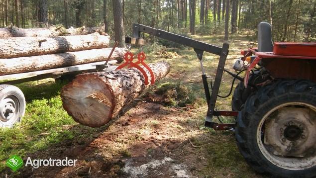 Chwytak samozaciskowy do drewna kleszcze szczypce do drewna drzewa - zdjęcie 1
