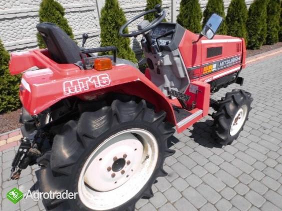 Mitsubishi MT16 super stan mini traktor kubota iseki - zdjęcie 3