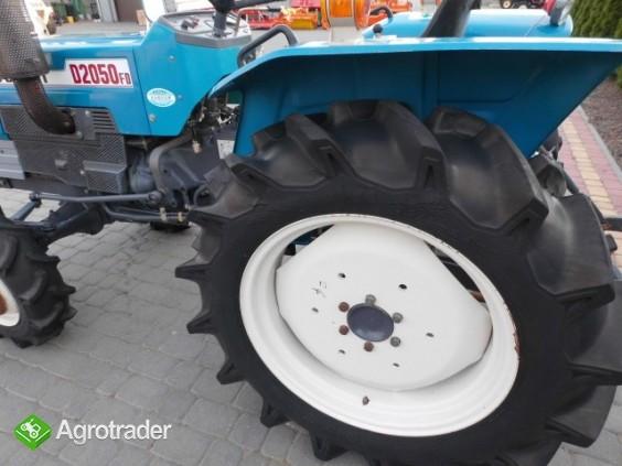 Mitsubishi D2050 Super stan mini traktor iseki kubota yanmar - zdjęcie 2