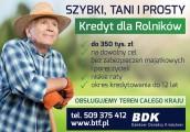 Szybki, Tani i Prosty Kredyt dla Rolników