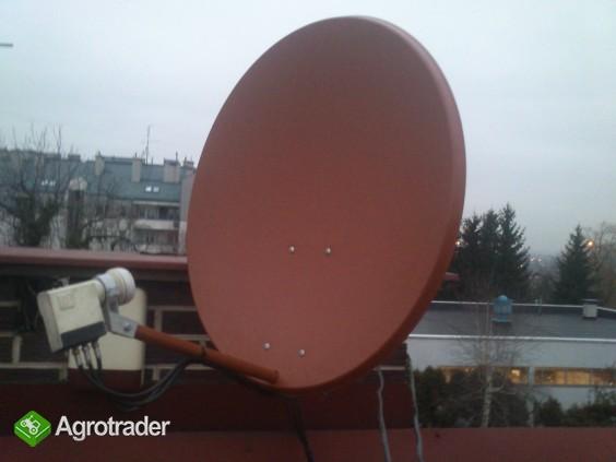 MONTAZ serwis zestawow satelitarnych ANTENOWYCH ustawianie ANTEN - zdjęcie 1