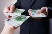 Darlehen Angebot von Geld zwischen bestimmten und ernst