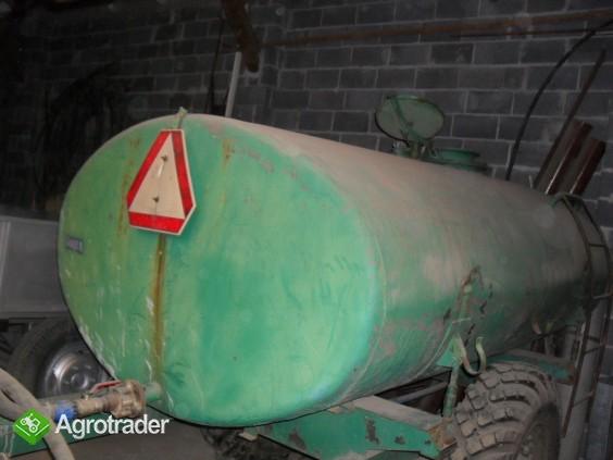 Beczka z pompa do ciągnika 5000litrów - zdjęcie 1