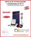 Instalacje fotowoltaiczne z 25 % dotacją. Obniż rachunki za prąd