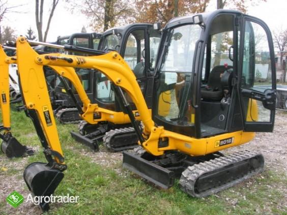 Sprzedam JCB 8018 2011 - dwie sztuki do wyboru - zdjęcie 4