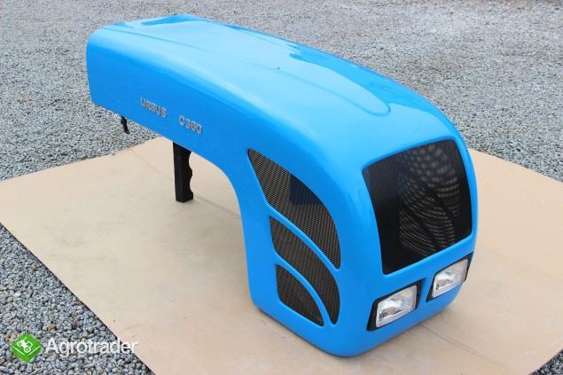 Maska ciągnikowa maska do ciągnika Ursus C360 C-360 niebieska  - zdjęcie 2
