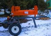 ŁUPARKA HYDRAULICZNA Double Action: nacisk 20/17t, silnik 2,2 kW, 62cm