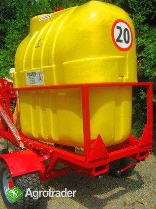 Opryskiwacz  do wózków widłowych ładowarek kołowych, 400L, 6,5 kM,  - zdjęcie 1