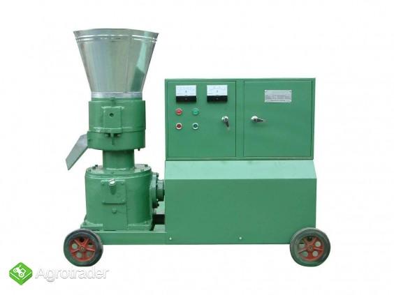 PELLECIARKA: wydajność do 350 kg/h, silnik 11 kW