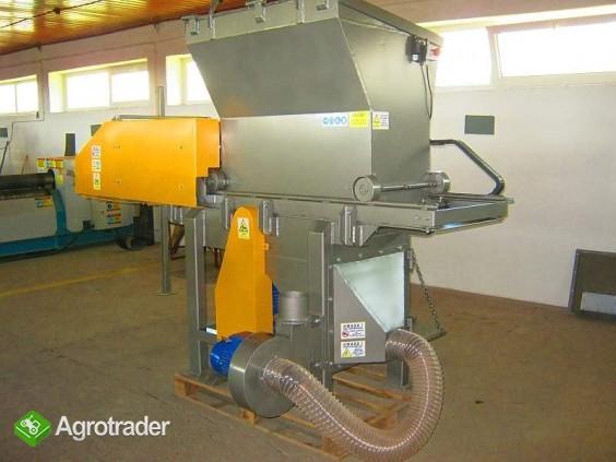 Rozdrabniacz, STRUGARKA  do nieforemnych odpadów 11 kW, HEBLER W-1 - zdjęcie 5