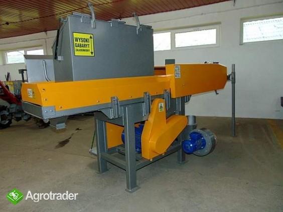 Rozdrabniacz, STRUGARKA  do nieforemnych odpadów 11 kW + młyn - zdjęcie 1