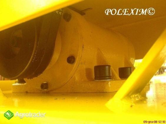 ZAGĘSZCZARKA SZEROKOPŁYTOWA 100 kg  silnik  6.5km, nacisk 20 kN = 1980 - zdjęcie 4