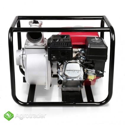 MOTOPOMPA spalinowa 60.000 L/ H. Silnik 6,5 kM - zdjęcie 3