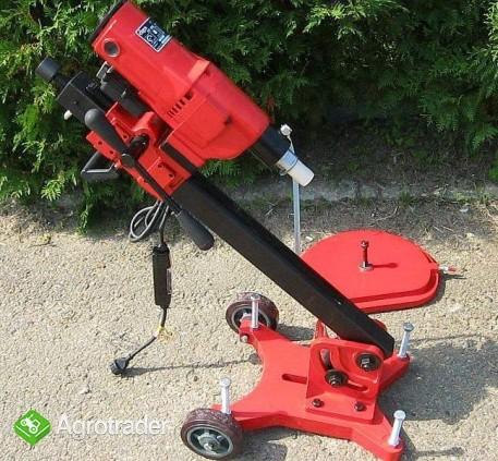 WIERTNICA DO BETONU (otwornica) moc silnika 2450 W max 255 mm, 2 biegi - zdjęcie 3