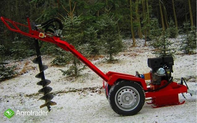 Wiertnica hydrauliczna glebowa o napędzie spalinowym 13 KM,  - zdjęcie 4