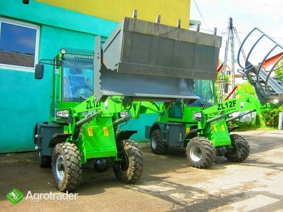 ŁADOWARKA KOŁOWA MODEL ZL12F wraz z osprzętem Udźwig max: 1200kg  - zdjęcie 6