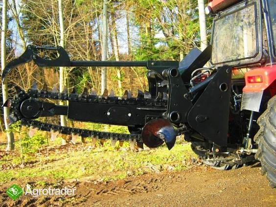 Koparka łańcuchowa napędzane z ciągnika rolniczego 160 CM - zdjęcie 2